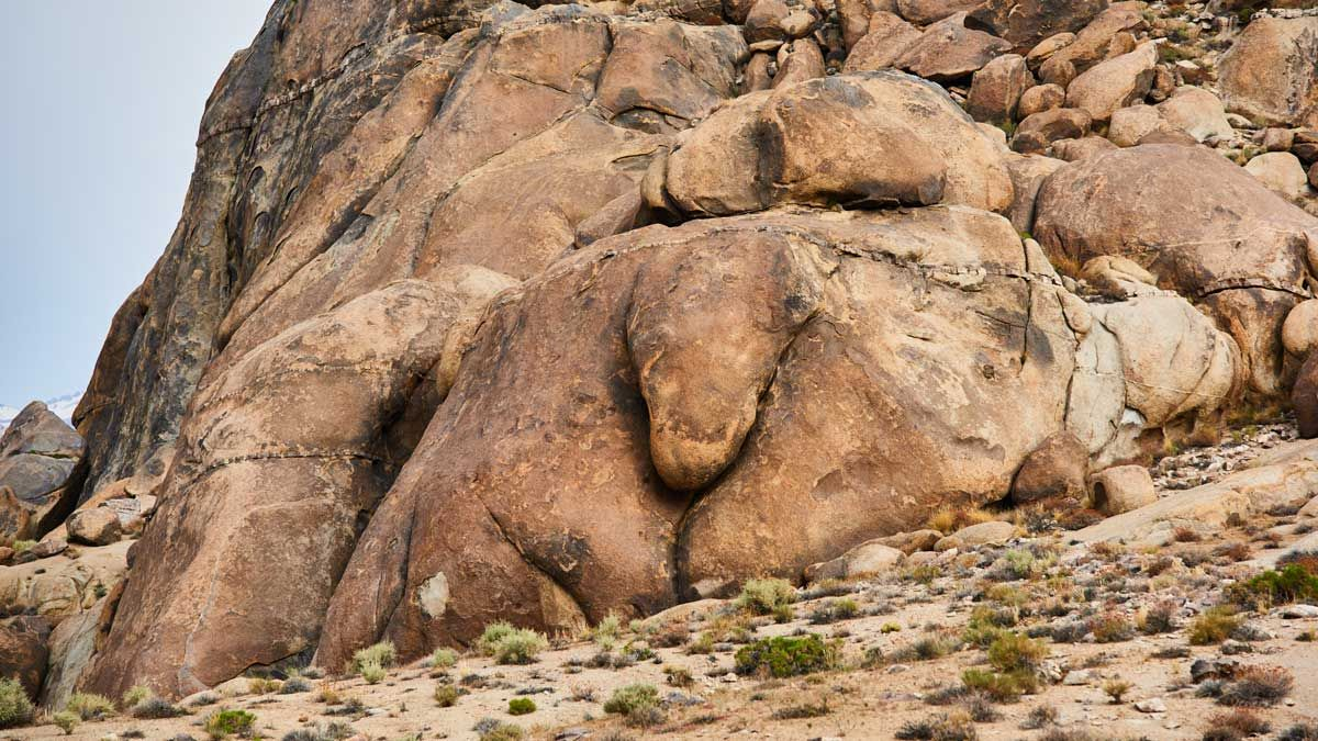 Alabama Hills - Elephant Tail