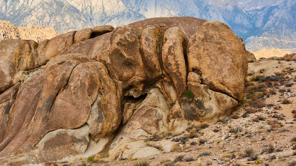 Alabama Hills Stone Alien